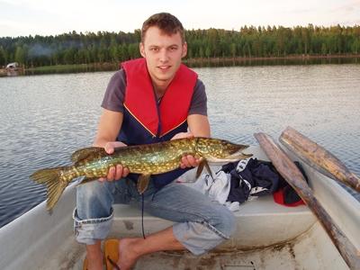 Fiske Tyngsjö vildmark