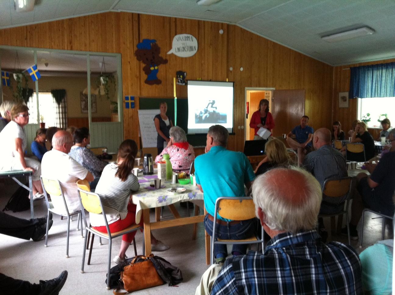 Presentation av projektet Flytta till Yttermalung och Malungs finnmark